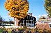 Autumn Brilliance at the Abraham Overholt Homestead Picture Thumbnail