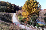 Youghiogheny River Trail Blazed in Autumn Color Picture Thumbnail