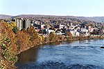 An Autumn View of Connellsville, Pennsylvania Picture Thumbnail