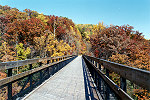 Youghiogheny River Trail Bridge at Ohiopyle Picture Thumbnail
