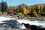Overlooking the Great Youghiogheny Waterfall of Ohiopyle Picture Thumbnail