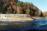 Ferncliff Peninsula at Ohiopyle in Autumn Color Picture Thumbnail