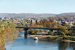A Distant Autumn View of Connellsville, Pennsylvania Picture Thumbnail