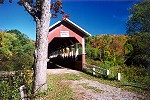 Barronvale Covered Bridge in Somerset County Picture Thumbnail