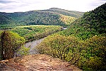 Laurel Highland Trail�s Youghiogheny River Overlook Picture Thumbnail
