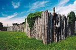 The Palisade Fort at Historic Hannah's Town Picture Thumbnail