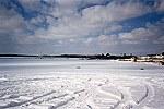 Frozen & Snow Covered Jacob's Creek Lake Picture Thumbnail