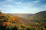 View From Baughman's Rocks in Ohiopyle State Park Picture Thumbnail