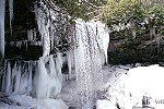 Large Ice Formations & Cucumber Falls Picture Thumbnail