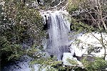 A Wintry Scene of the Bridal Veil Cucumber Falls Picture Thumbnail
