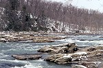 Cold Youghiogheny River Rapids at Ohiopyle State Park Picture Thumbnail