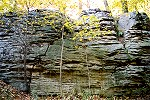 Historic Washington Rocks Outcropping at Jumonville Glen Picture Thumbnail