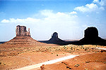 Monument Valley Following a Sandstorm