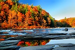 Fall Foliage Peak at Ohiopyle