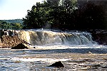 A Morning Closeup of the Great Falls of Ohiopyle Picture Thumbnail