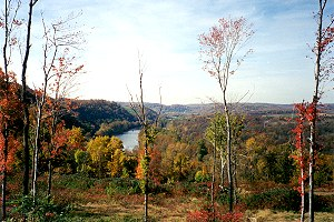 A View from Adelaide Hills in Fayette County
