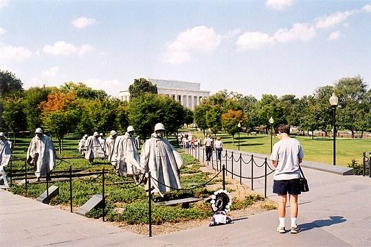 A Scene at the Korean War Veterans Memorial Picture