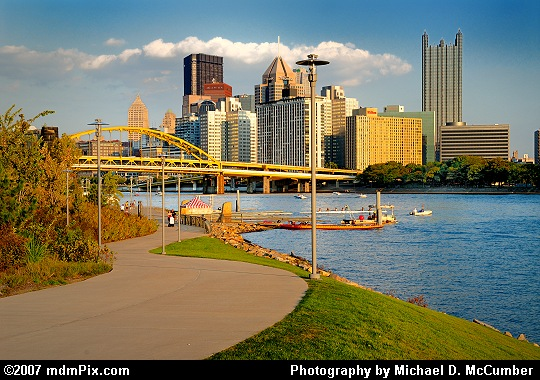 Pittsburgh's Skyline Viewed From the North Shore Trail Picture