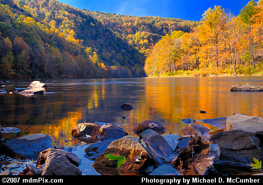 Chestnut Ridge Slopes Greet the Youghiogheny River Picture