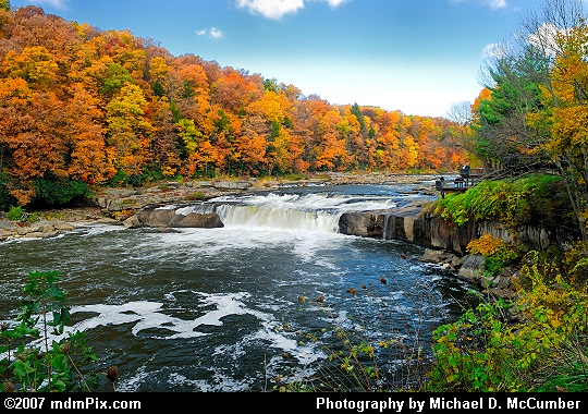 Nice Atmospheric Effect at Ohiopyle's Great Falls Picture