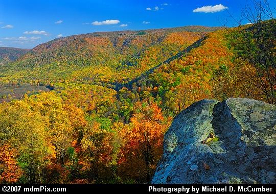 Laurel Ridge as Viewed from Baughmans' Overlook Picture