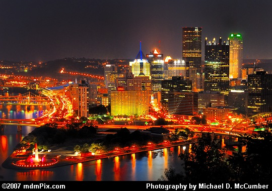Mount Washington's View of Pittsburgh's Golden Triangle Picture