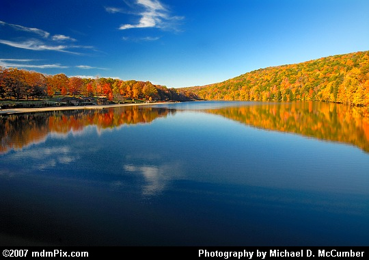 A Wide Angled Evening View of Laurel Hill Lake Picture